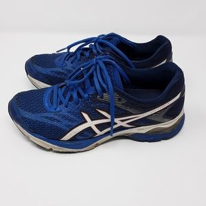 Asics Blue Running Workout Shoes Ladies Size 8